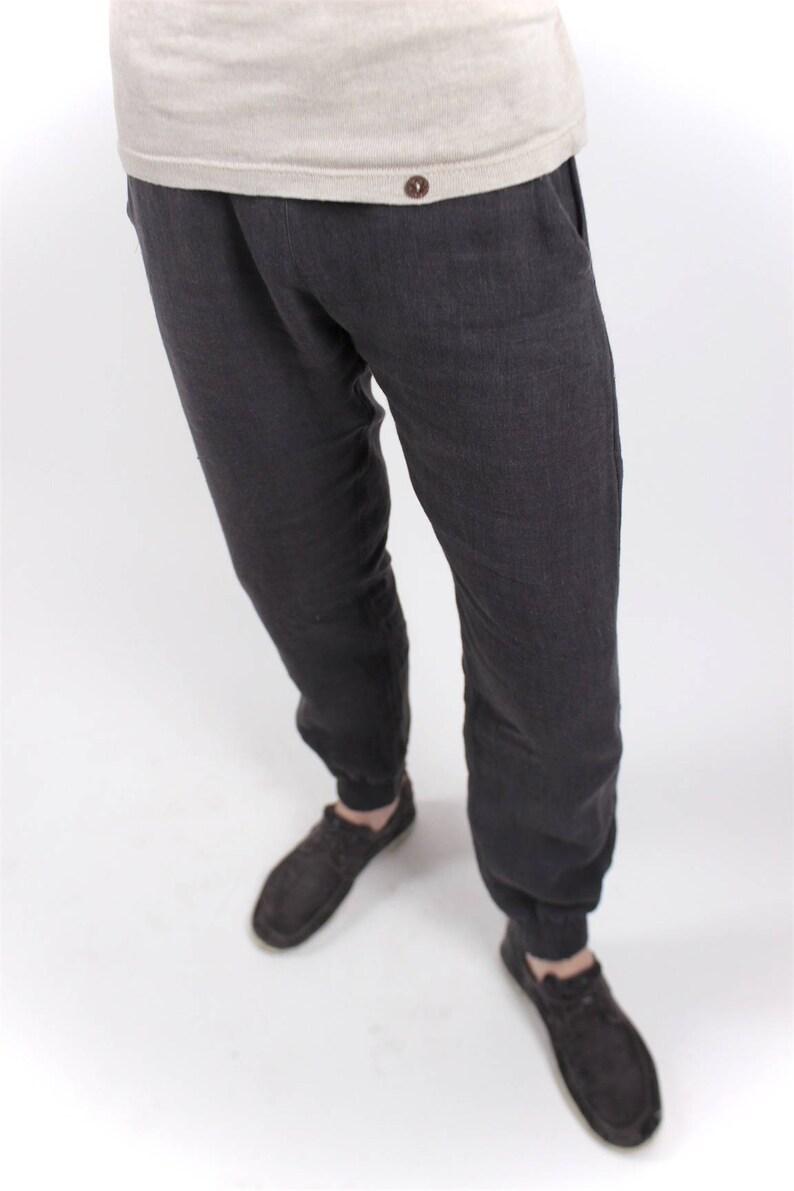 4cfdf9a150 Hemp Pants Stretch Unisex Organic Fashion Vegan   Etsy