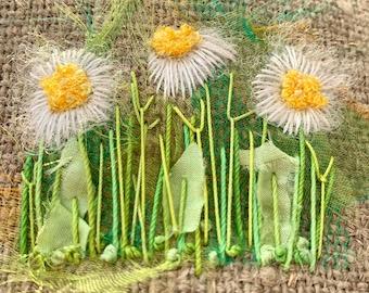 Daisy Creative Embroidery Kit