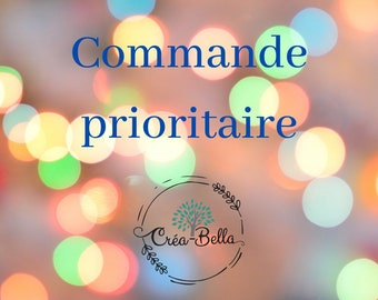 Commande prioritaire , rush my order, accélérer le processus