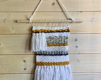 wall weaving, wall hanging, wall decor