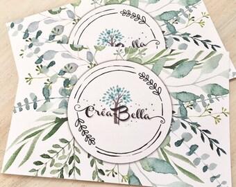 Certificat cadeau Créa-Bella personnalisé 15,20,25,40,50,60,75,100 au choix