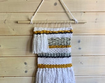 wall weaving, hanging wall decor,
