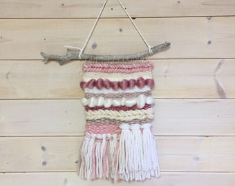 wall weaving, wall hanging decor