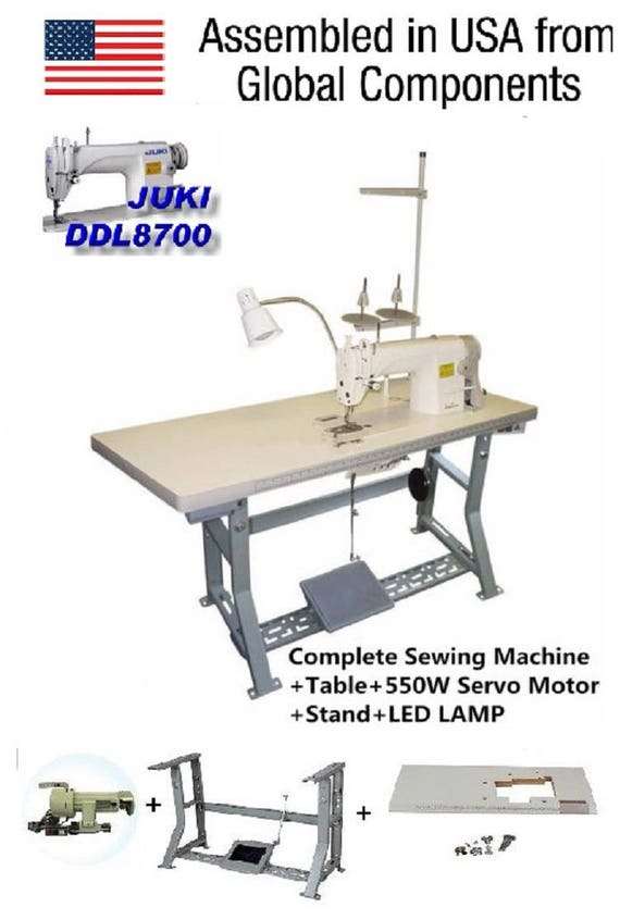 Juki DDL40 Lockstitch Sewing Machine Servo Motor Stand Etsy Interesting Juki Sewing Machine Table
