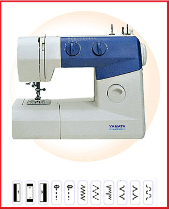 Yamata Fy750 Heavy Duty Metal Gear Sewing Machine Free Arm Etsy