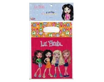 party loot bags / LIL' BRATZ / bratz dolls / 8 loot bags