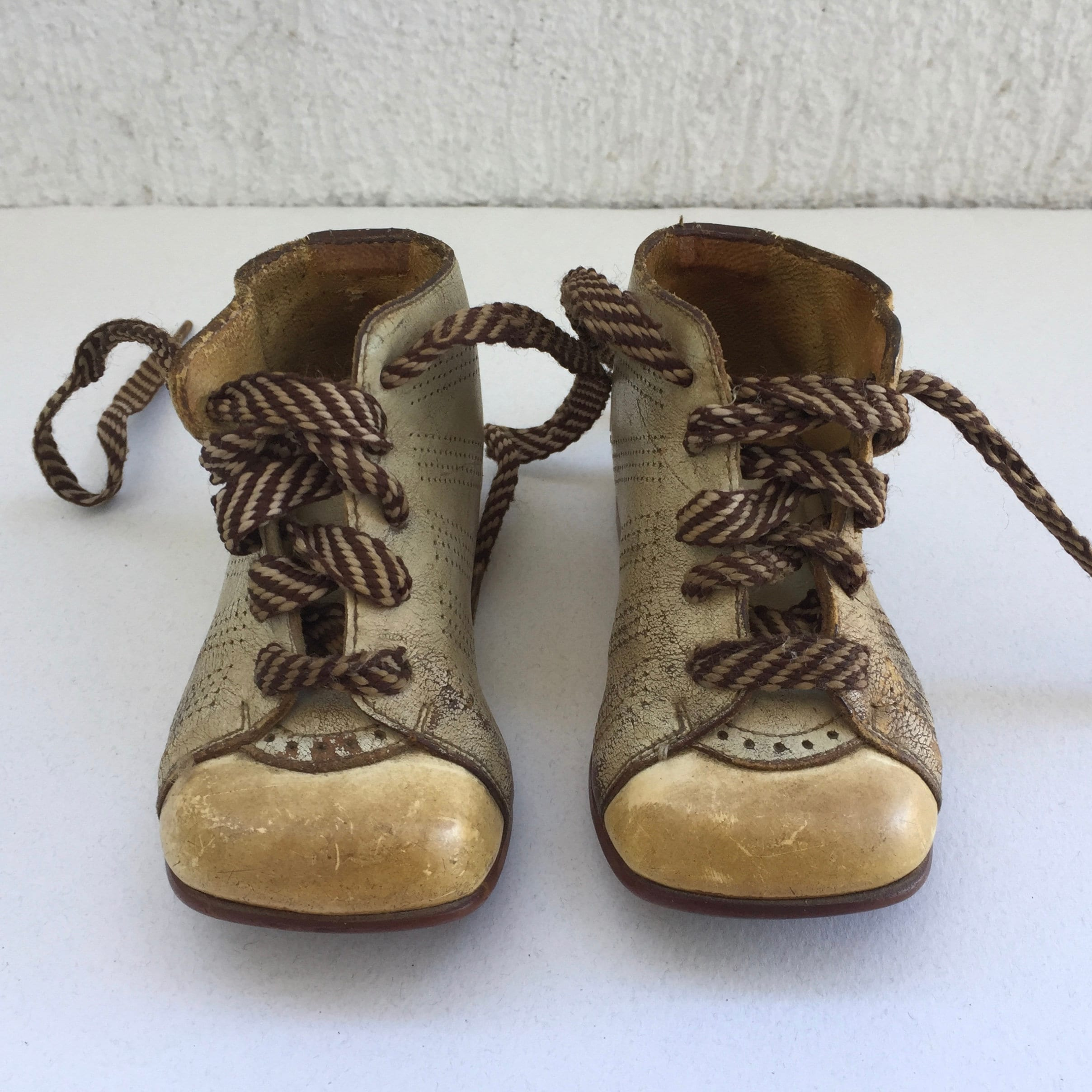 Vintage El Chico Elefanten Schuhe Eu 18 Beige Leather Baby Etsy