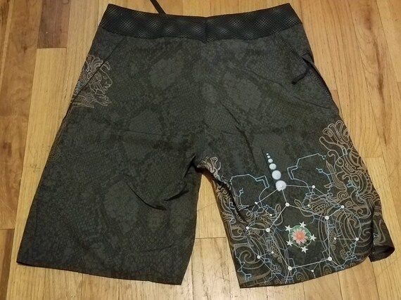 Sacred Geometry Symbol Men Summer Casual Shorts,Beach Shorts Board Shorts