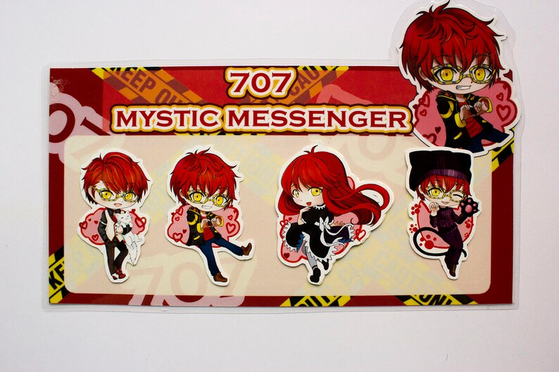 Mystic Messenger 707 stickers  1ff2332ae0