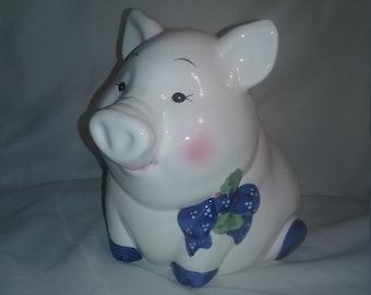 Vintage Ceramic House Of Lloyd Pig Piggy Bank Farm Animal  Banks