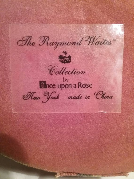 Cool Raymond Waites Collection Once Upon A Rose Fabric Chest Box Tassel Gift Box Vintage Flower Box With Tossel Caraccident5 Cool Chair Designs And Ideas Caraccident5Info
