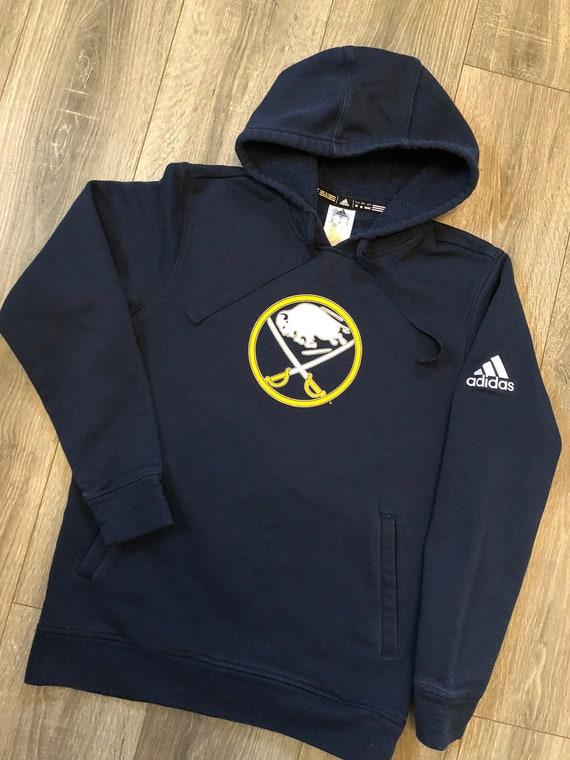Buffalo Sabres Vintage Logo Hooded Sweatshirt, Uni