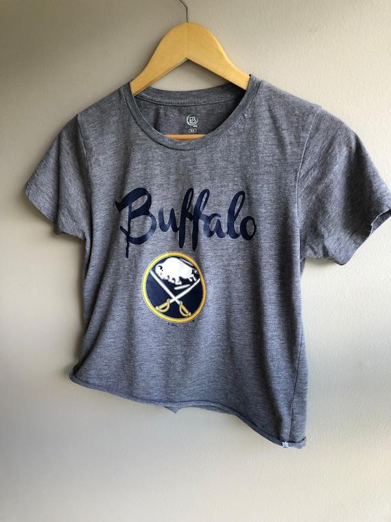 Buffalo Sabres Hockey NHL Women's Cropped Shirt, W