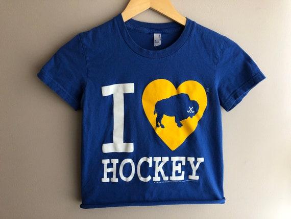 I Love Buffalo Hockey Buffalo Sabres Women's Cropp