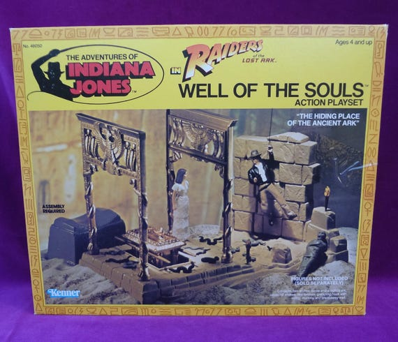 1982 Kenner Indiana Jones ROTLA Well Of Souls Arch Leg Right