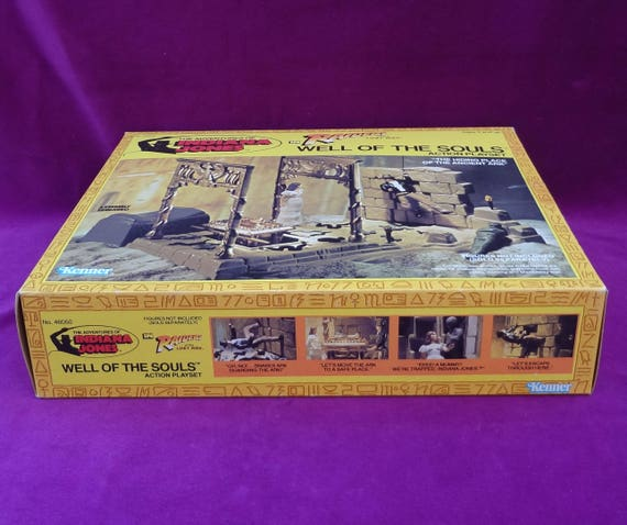 1982 Kenner Indiana Jones ROTLA Well Of Souls Arch