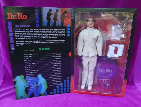 "SIDESHOW 007 DR NO 12/"" MOVIE FIGURE JOSEPH WISEMAN BRAND NEW SEALED"