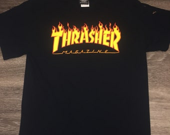 Authentic Thrasher Magazine T-Shirt 34febbb5c7b2