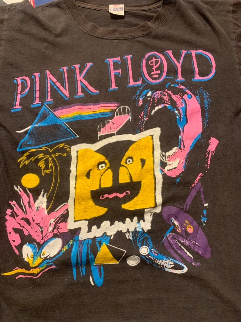 1994 Vintage Pink Floyd the division bell tour shirt