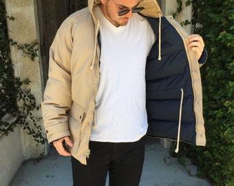 Vintage Lacoste Down Waterproof Jacket