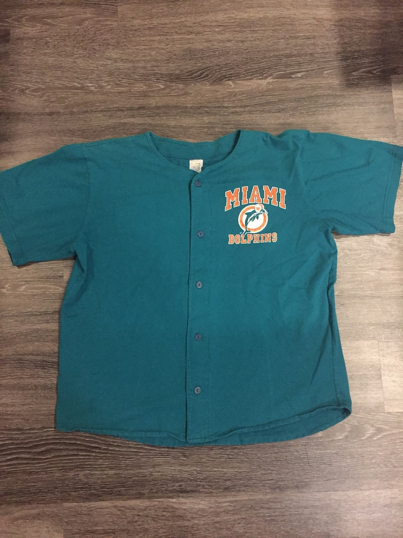 low priced cda9d af5d3 80/90s Vintage Miami Dolphins shirt