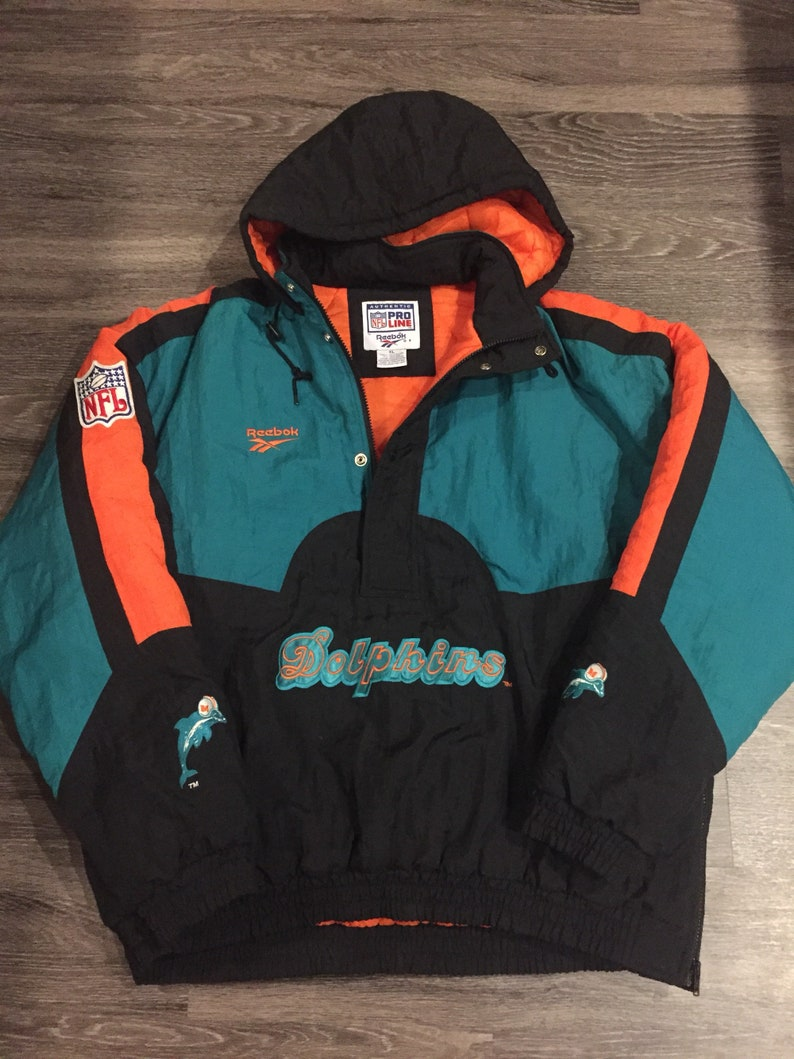 the latest 2bd7f e8eb2 Pro Line NFL Miami Dolphins jacket XL