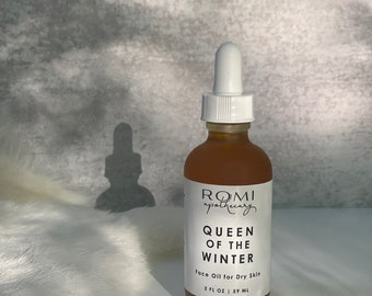 Queen of the Winter Face Oil for Dry Skin