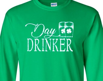 Day Drinker Funny Long sleeve T-Shirt
