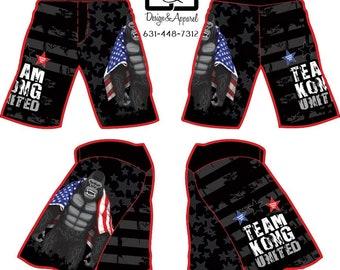 Team Kong United Wrestling Fight Shorts