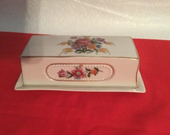 Vintage  covered butter dish