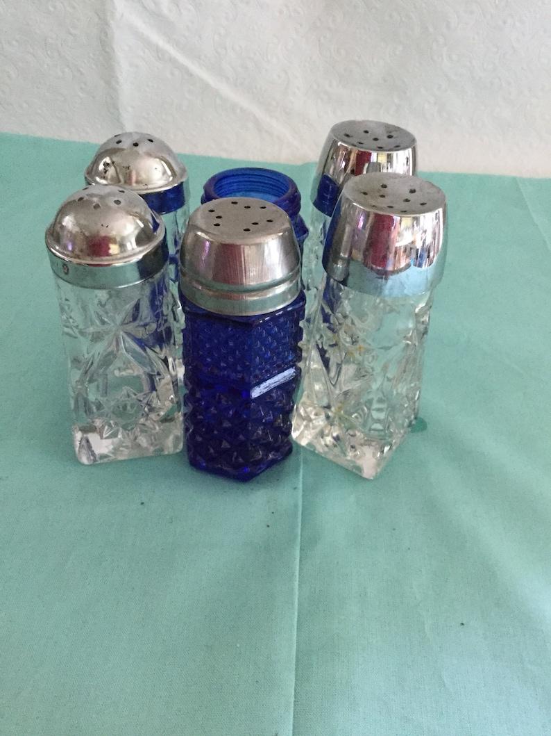 Vintage  salt and pepper shakers
