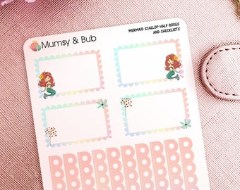 Mermaid Half Boxes and Checklists