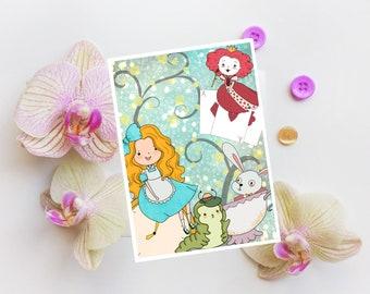 A6 Postcard - Alice