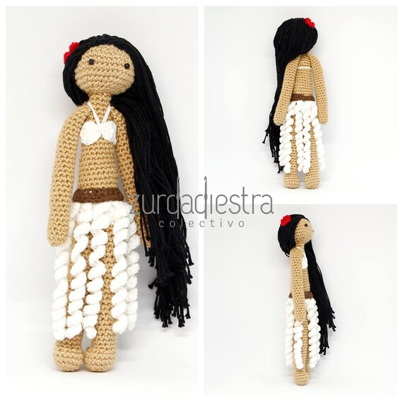 Patrón para Crochet Tiare niña Rapa Nui: Tutorial para tejer | Etsy