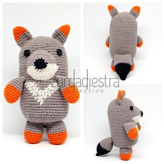 Patrón para Crochet Belarmino zorro de Darwin: Tutorial | Etsy