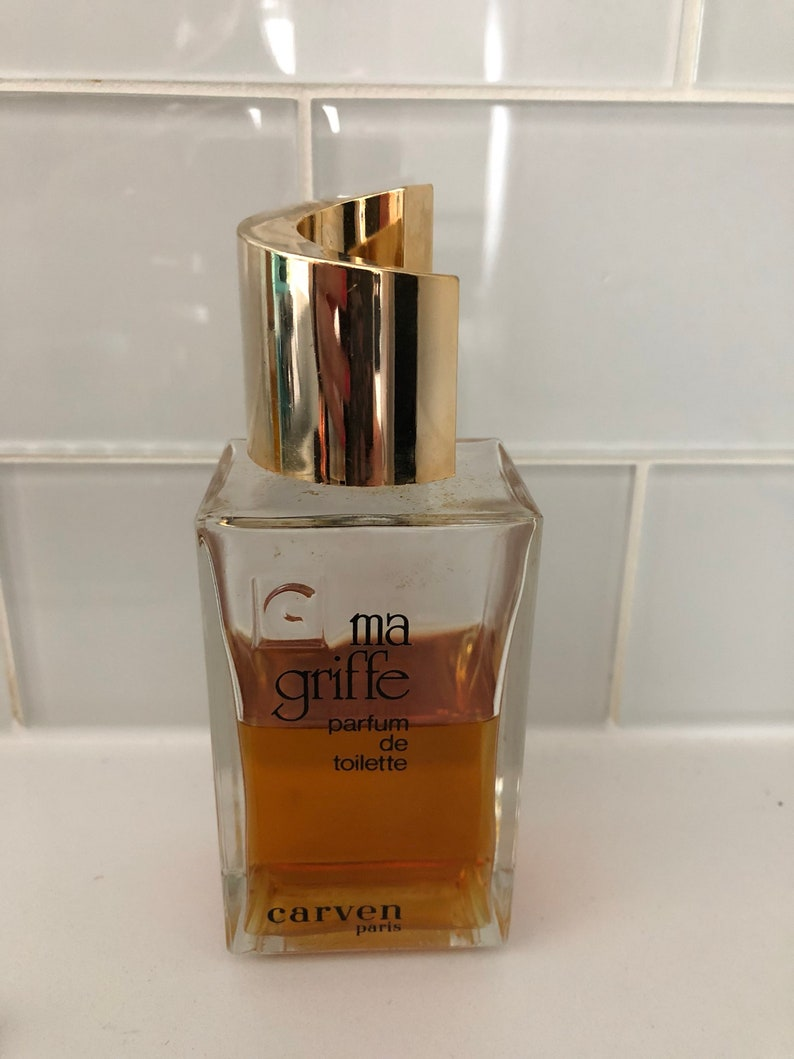 Vintage Ma Griffe Carven Parfum Toulette Formule 120ml 45Utilisé De Nwm80n