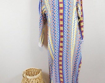 White Lace Kaftan Tunic Tassels Gold Trim Soft Lace Long Oversized Fit 14-18 NEW