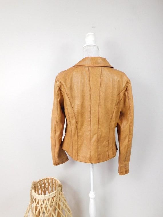 50% OFF FALL SALE Vintage 90s Frida G. Tan Brown … - image 2