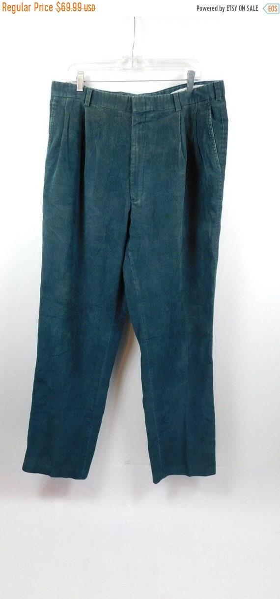 50/% SUMMER SALE Vintage 90s Bright Orange Creased Solid Minimal Classic Polyester Modest High Waist Pants Slacks Trousers Sz 8 Medium