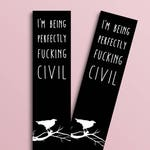 Ronan Lynch Quote bookmark (Raven Cycle inspired)