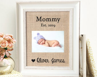39f3b93ed1cc Mother s Day Gift First Mothers Day Grandma Gift For Mommy New Mom New  Personalized Picture Frame From Baby To Wife Fom Husband Kids On Sale