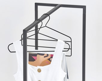 Portable clothes rail SR-01 | fashion shows and craft fairs | any color
