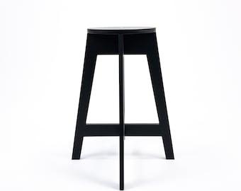 "Bar stool counter high 63cm (24 3/4"")"