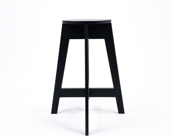 "Bar stool counter high 63cm (24 3/4"")"