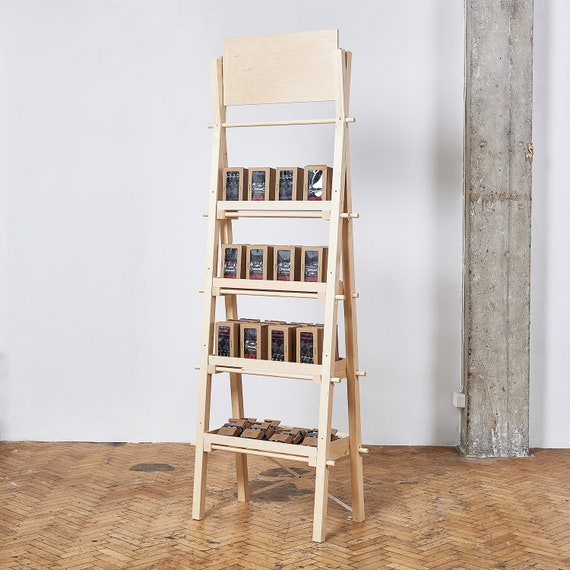 the best attitude 07975 e7242 Portable tall and narrow shelving unit VS-04 with shelves or drawers   pop  up store