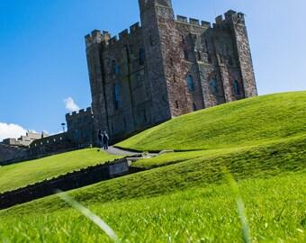 Bamburgh Castle, Northumberland, UK, Fine Art Print, Home Decor