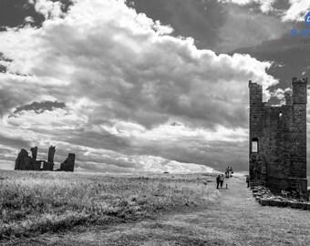 Dunstanburgh Castle, UK, Fine Art Print, Home Decor