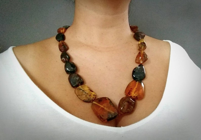 Amber stone  Amber  Amber Necklace from Chiapas