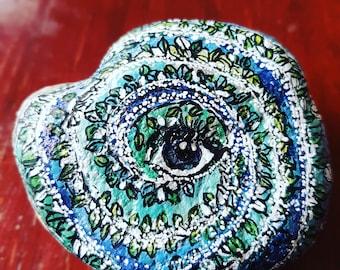 Spiritual Stone Eye of Mother Earth