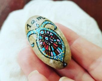 Spiritual stone of fire sign ram